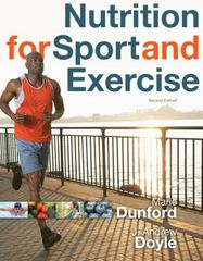 Nutrition for Sport and Exercise 2nd Edition 9780840068293 0840068298