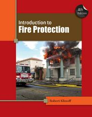 Introduction to Fire Protection 4th Edition 9781439058428 1439058423