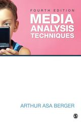 Media Analysis Techniques 5th Edition 9781483312316 1483312313