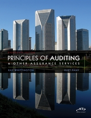 Principles of Auditing and Other Assurance Services with ACL Software CD 18th Edition 9780077486273 0077486277
