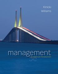 Management with Connect Plus 5th edition 9780077477622 0077477626