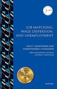 Job Matching, Wage Dispersion, and Unemployment 0 9780199233786 0199233780