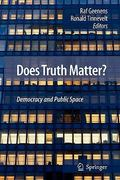 Does Truth Matter? 0 9789048180042 904818004X