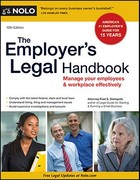 The Employer's Legal Handbook 10th Edition 9781413313901 1413313906