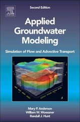 Applied Groundwater Modeling 2nd Edition 9780120581030 0120581035