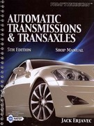 Today's Technician: Automatic Transmissions and Transaxles, Shop Manual 5th Edition 9781435481046 1435481046