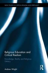 Religious Education and Critical Realism 1st Edition 9781135236069 1135236062