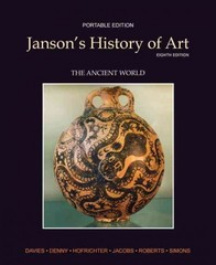 Janson's History of Art Portable Edition 8th edition 9780205161102 0205161103