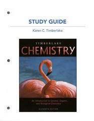 Study Guide for Chemistry 11th edition 9780321719423 0321719425