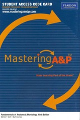 MasteringA&P -- Standalone Access Card -- for Fundamentals of Anatomy & Physiology 9th edition 9780321741714 0321741714