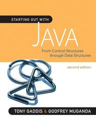 Starting Out with Java 2nd edition 9780321545862 0321545869