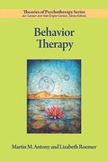 Behavior Therapy 1st Edition 9781433809842 1433809842