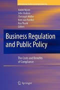 Business Regulation and Public Policy 0 9781441926647 144192664X