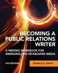 Becoming a Public Relations Writer 4th edition 9780415888028 0415888026