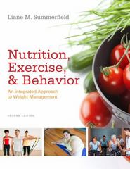 Nutrition, Exercise, and Behavior 2nd edition 9781133715771 113371577X