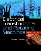 Electrical Transformers and Rotating Machines 3rd edition 9781111039134 1111039135