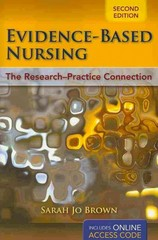 Evidence-Based Nursing 2nd edition 9781449624064 1449624065