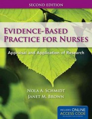Evidence-Based Practice For Nurses 2nd Edition 9781449624071 1449624073