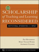 The Scholarship of Teaching and Learning Reconsidered 1st edition 9780470599082 0470599081