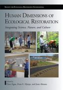 Human Dimensions of Ecological Restoration 2nd edition 9781597266901 1597266906