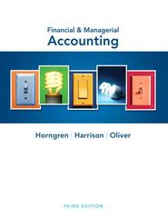 Financial & Managerial Accounting 3rd edition 9780132497992 0132497999