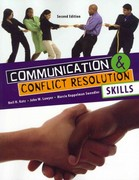 Communication and Conflict Resolution Skills 2nd Edition 9780757578755 0757578756