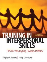 Training in Interpersonal Skills 6th edition 9780132551748 0132551748