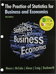 The Practice of Statistics in Business and Economics (Loose Leaf) & CD-Rom 3rd edition 9781429279529 1429279524