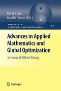 Advances in Applied Mathematics and Global Optimization 0 9781441945402 1441945407