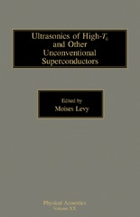 Ultrasonics of High-Tc and Other Unconventional Superconductors 0 9780323148542 0323148549