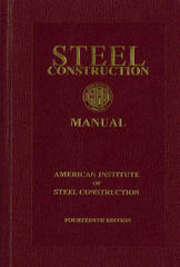 Steel Construction Manual 14th Edition 9781564240606 1564240606