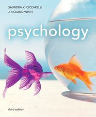 Psychology (paperback) 3rd edition 9780205011353 0205011357