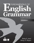 Fundamentals of English Grammar with Audio CDs and Answer Key 4th Edition 9780137071692 0137071698