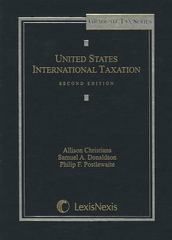 United States International Taxation 2nd Edition 9781422480311 1422480313