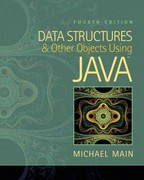 Data Structures and Other Objects Using Java 4th Edition 9780133001914 0133001911