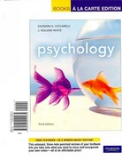 Psychology, Books a la Carte Plus MyPsychLab -- Access Card Package 3rd edition 9780205019557 0205019552