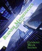 Business Mathematics Brief 12th edition 9780132545877 013254587X