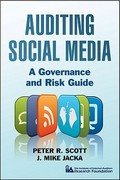 Auditing Social Media 1st Edition 9781118061756 1118061756