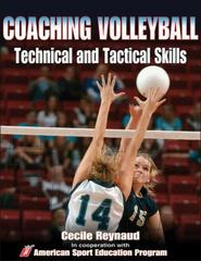 Coaching Volleyball Technical and Tactical Skills 0 9780736053846 0736053840