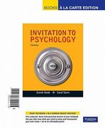 Invitation to Psychology, Books a la Carte Edition 5th edition 9780205066360 0205066364