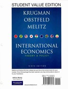 International Economics 9th edition 9780138018979 0138018979