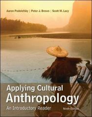 Applying Cultural Anthropology 9th Edition 9780078117039 0078117038