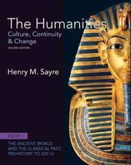 The Humanities 2nd edition 9780205013302 0205013309