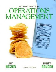 Operations Management Flexible Version with Lecture Guide & Activities Manual Package 10th edition 9780132577069 0132577062