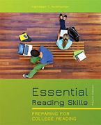 Essential Reading Skills (with MyReadingLab with Pearson eText Student Access Code Card) 4th edition 9780205170173 020517017X