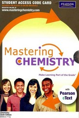 MasteringChemistry with Pearson eText Student Access Code Card for Chemistry 6th edition 9780321723437 0321723430