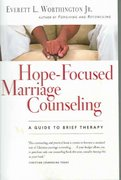 Hope-Focused Marriage Counseling 2nd Edition 9780830871988 0830871985