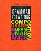 Grammar for Writing, Fifth Course 0 9780821503102 0821503103