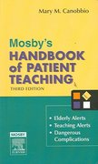 Mosby's Handbook of Patient Teaching 3rd edition 9780323032087 0323032087