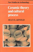 Ceramic Theory and Cultural Process 0 9780521272599 0521272599